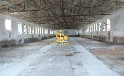 Voľné skladové/ výrobné priestory o rozlohe 700 m2 v Kolárove