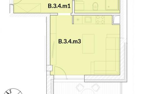 IMPEREAL - Predaj 1 izb. byt  PANORAMA - BLOK B.- Nitra