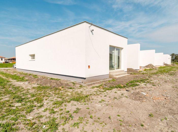 VEĽKÉ ÚĽANY, 4-i dom, 123 m2 – NOVOSTAVBA v novovznikajúcej štvrti, TEHLA, možnosť odkúpenia IHNEĎ