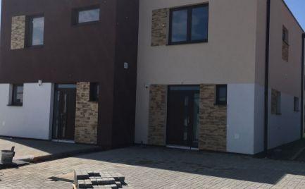 Komfortné 4 izb rodinné dvojdomy v novej časti obce Hrubá Borša - Model A