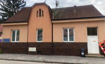 Na predaj rodinný dom s prevádzkou pohostinstva + butik, Trenčín - Legionárska ul.