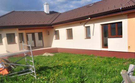 NOVOSTAVBA priestranný nízkoenergetický 4 izbový rodinný dom Vyšná Šebastová