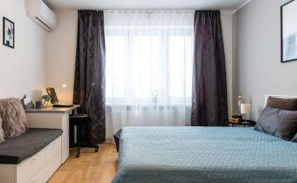 Prenájom - klimatizovaný 3-izbový byt   v Ružinove blízko centra