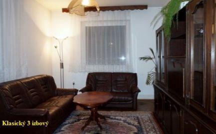 Klasický 3 izbový byt v Plevníku