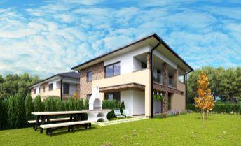 byt č. SO-08-1 - Na predaj byty so záhradou Dunajská Riviéra v obci Hamuliakovo