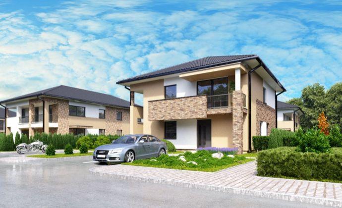 byt č. SO-08-2 - Na predaj byty so záhradou Dunajská Riviéra v obci Hamuliakovo