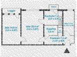 2,5 izb. byt, Komárnická ul., po kompletnej rekonštrukcii