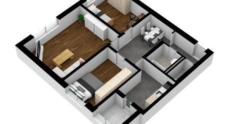 3 izbový byt na predaj na Osuského ulici