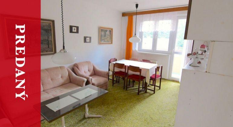 PREDANÝ: Predaj parádneho 2i bytu na Bulvári | 53 m2 | super dispozícia | na rekonštrukciu