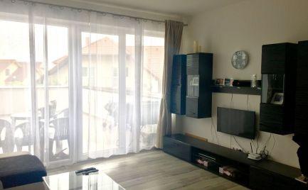 Novostavba  2 izbového zariadeného bytu s veľkou terasou v Dunajskej Lužnej.