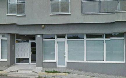 Obchodný priestor s výkladmi, UP 80 m2, Kazanská ul.