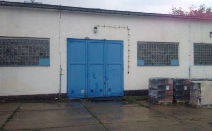 Výrobno-skladový priestor so žeriavom (2 t), výmera 396 m2, Príjazdná ul.