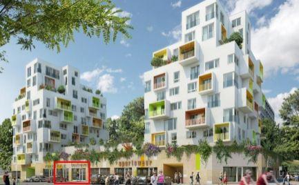 NOVOSTAVBA - obchodný priestor 63 m2 - holopriestor, bytový komplex NOVÝ HÁJ