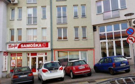Obchodný priestor 206 m2, Zámocká ul.