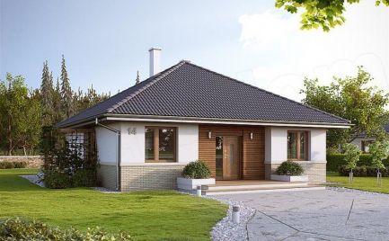 Nízkoenergetický  3- izb. rodinný dom, UP 86 m2, už od 273 €  mesačne.