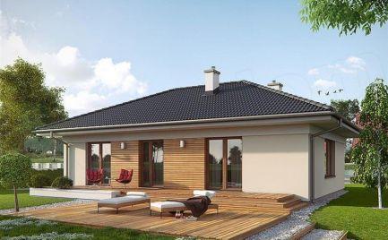 Nízkoenergetický  4- izb. rodinný dom, UP 98 m2, už od 304 €  mesačne.