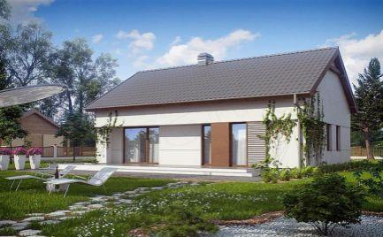 Nízkoenergetický  4- izb. rodinný dom, UP 100 m2, už od 310 €  mesačne.