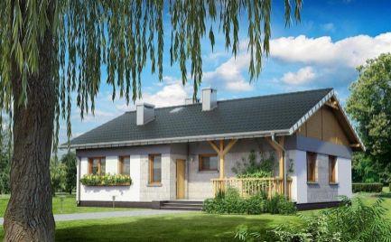 Nízkoenergetický  4- izb. rodinný dom, UP 94,6 m2, už od 295 €  mesačne.