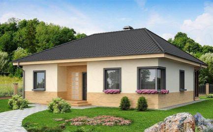 Nízkoenergetický 4- izb. rodinný dom, UP 110,50 m2, už od 341 € mesačne.