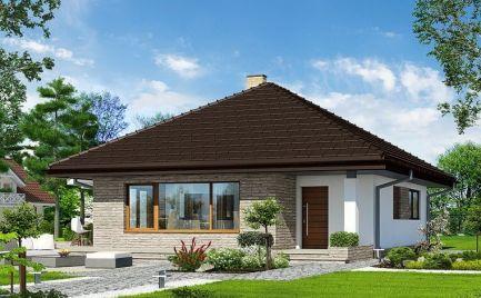 Nízkoenergetický 3-izbový rodinný dom, UP 77 m2, už od 216 €/ mesačne
