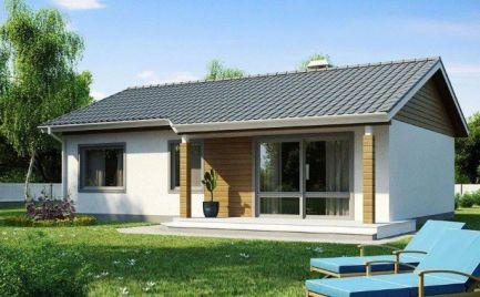 Nízkoenergetický  4 izbový rodinný dom, UP 82 m2, už od  235 €  mesačne