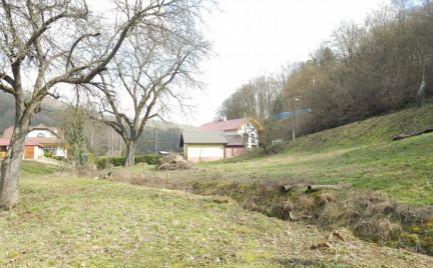 Stavebný pozemok v obci Vlkanová