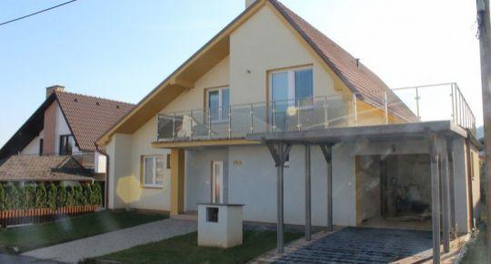 Priestranný nový rodinný dom na predaj v Divíne