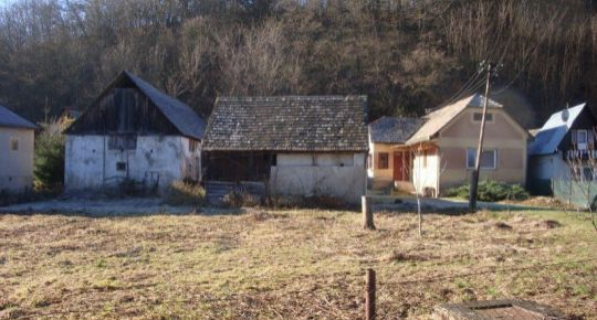 RD v Hrušove vhodný na gazdovanie, bývanie a chalupu.