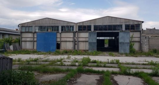Skladový objekt - výrobná hala, pozemok 5940 m2