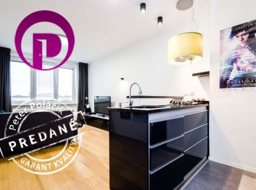PREDANÉ - 2i byt, 52 m2 – BA - Rača: NADŠTANDARDNE vybavený, balkón a krásny výhľad na Krasňany.