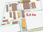 Priemyselno - prevádzkový areál v Nitre na predaj. Vhodný aj ako investícia
