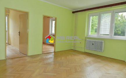 PRENAJATÉ - Trojizbový byt , Kremnica, dlhodobý prenájom