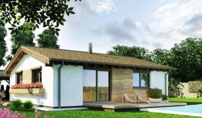 TURČIANSKE TEPLICE nízkoenergetický 3 izbový dom s úžit. plochou 74m2