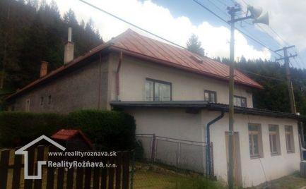 Rodinný dom Dedinky - Dobšinská Maša
