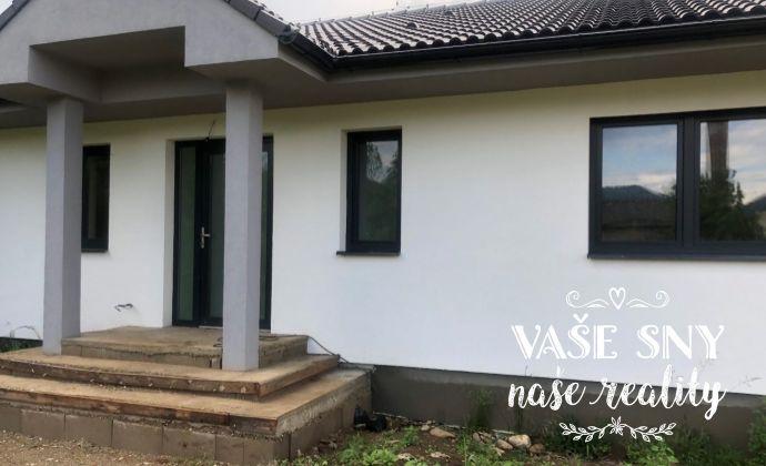 4 izbový rodiný dom - NOVOSTAVBA, pozemok 529 m2