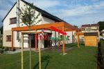 112reality - Na prenájom  klimatizovaný 5 izbový rodinný dom, 2 kúpeľne, usporý dom pri lese, Záhorská Bystrica