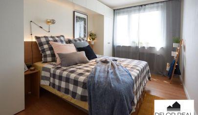 Krásny 3 izbový kompletne zrekonštruovaný a novo zariadený byt, balkón aj loggia