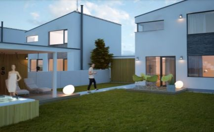 TOP PONUKA - Novostavba rodinný dom s pozemkom 415 m2,  B. Bystrica Cena 392 000€ - na kľúč !!!
