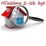 RK Byty Bratislava hľadá na predaj 2-izb. byt BA II - Ružinov.