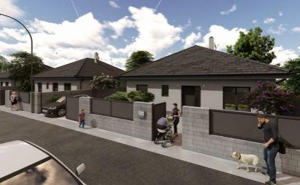 Komfortné 4 izb bungalovy v novej časti obce Vydrany