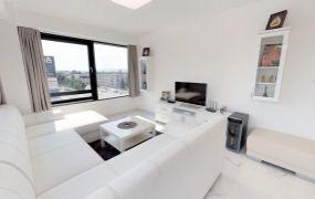 EXKLUZÍVNE IBA U NÁS !!! Ponúkame Vám na prenájom luxusný 2 izbový byt, zariadený v novostavbe ASTRA, 54 m2 , Dubnica nad Váhom - priame centrum mesta, Námestie Matice Slovenskej.