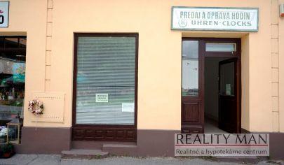 REALITY MAN – Komerčný priestor 20 m2, centrum mesta, Rázusova ulica - Piešťany