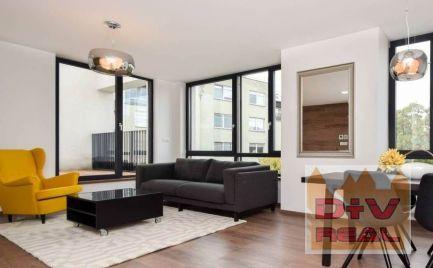 D+V real ponúka na prenájom: 3 izbový byt, Dunajská ulica, Inner city, zariadený, terasa 83m2., parkovanie