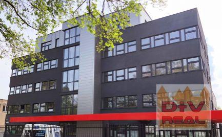 D+V real ponúka na prenájom: Kancelárie, služobný byt, Elektrárenská ulica, Bratislava III, Nove mesto, parkovanie, sklad, výmera dohodou