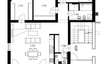 4i byt novostavba, terasa, uzavretý dvor