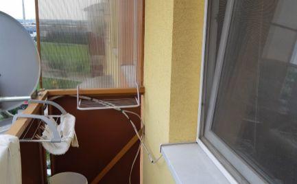 1 Izbový byt, balkón, vyhľadávaná lokalita, Rybníky I, Levice