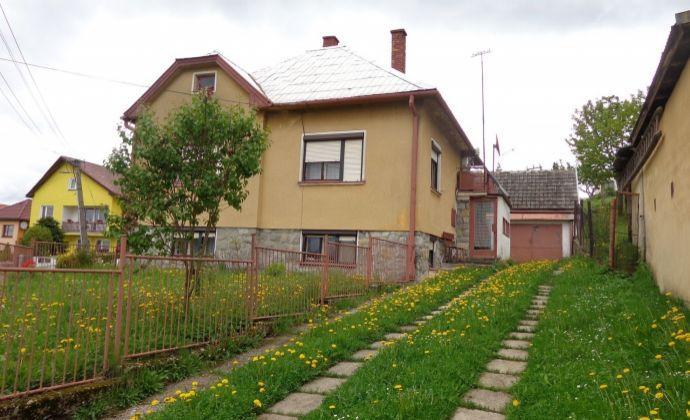 Rodinný dom v liptovskej obci Závažná Poruba