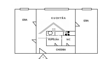 Predaj 2 izbového bytu, Zvolen - Západ
