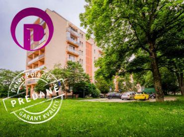 REZERVOVANÉ - 3i byt, 96 m2 – BA- Ružinov: krásne výhľady - LOGGIA aj BALKÓN - na dve svetové strany
