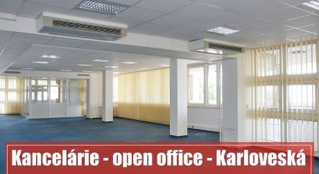 OPEN SPACE OFFICE - Kancelárie: Bratislava – Karloveská ulica, prenájom 990 m2 kancelárií na začiatku Karlovej Vsi